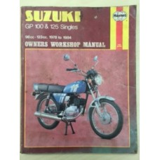 Suzuki GP 100 & 125 Singles Workshop Service Manual