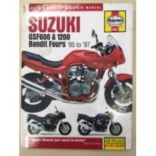 Suzuki GSF600 & 1200 Bandit Fours Workshop Service Manual