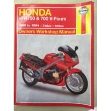 Honda VFR750 & 700 V-Fours Workshop Service Manual