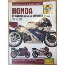 Honda VFR400R (NC30) & RVF400R (NC35) Workshop Service Manual