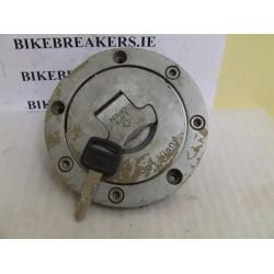 bikebreakers.ie Used Motorcycle Parts VFR750F 88-89  CBR/VFR FUEL FILLER CAP WITH KEY
