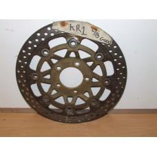 KR1 FRONT BRAKE DISC