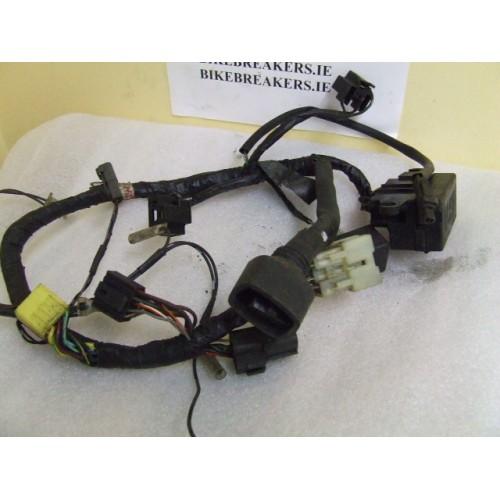Bikebreakersie Used Motorcycle Parts GSX R750 96 99 GSXR 750 WT MAIN WIRING LOOM