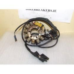 bikebreakers.ie Used Motorcycle Parts FZR250 (2KR)  FZR 250 2KR GENERATOR